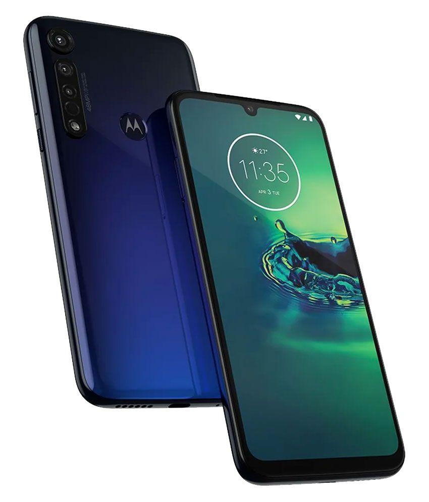 Celular Libre Moto G8 Plus Xt2019-2 Azul